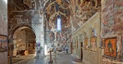 Fresken im Kloster Pitareti aus dem 13. Jahrhundert